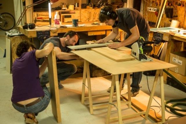 Ici montreuil atelier bois carousel